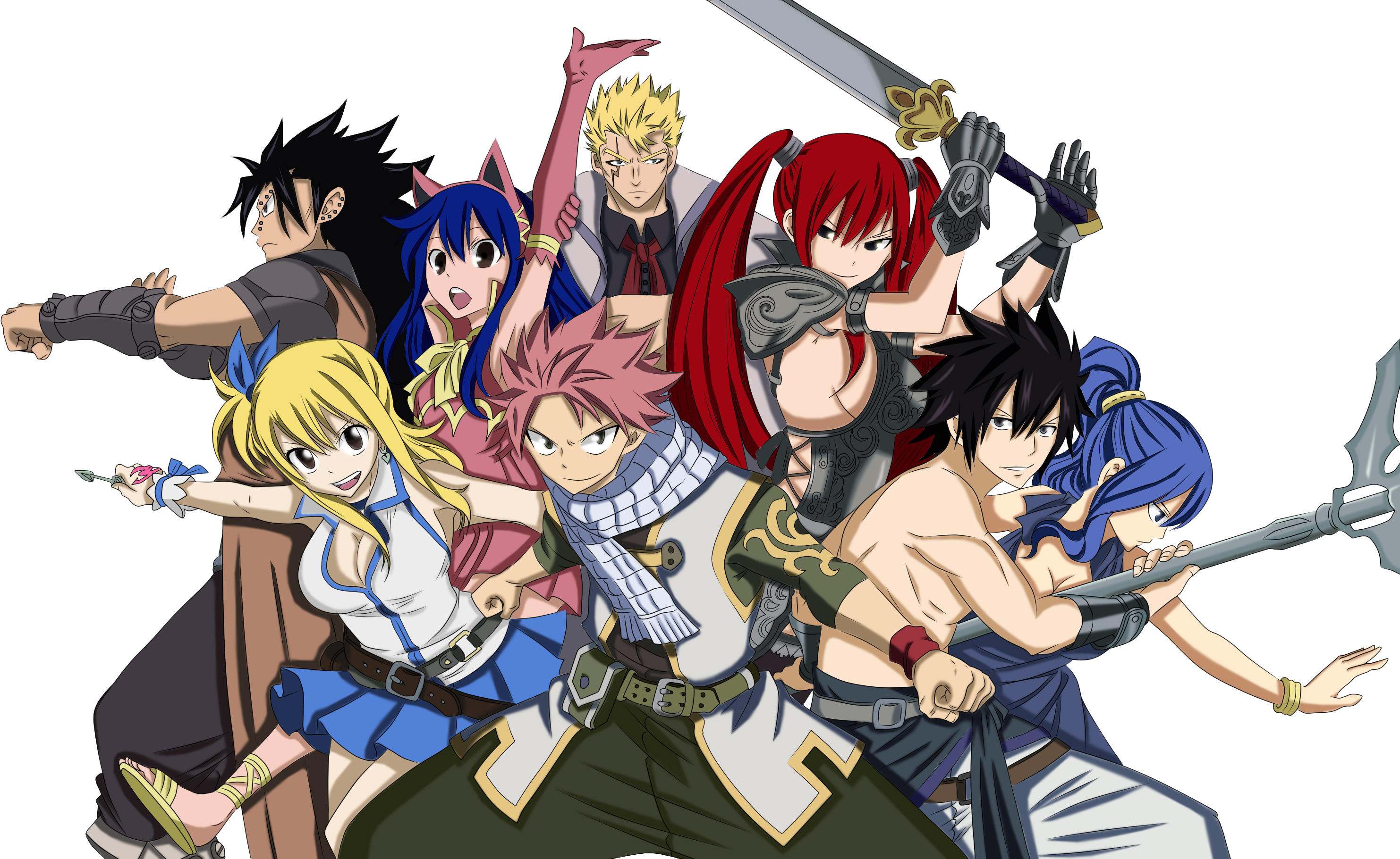 The strongest team fairy tail daily anime art - Image manga fairy tail ...