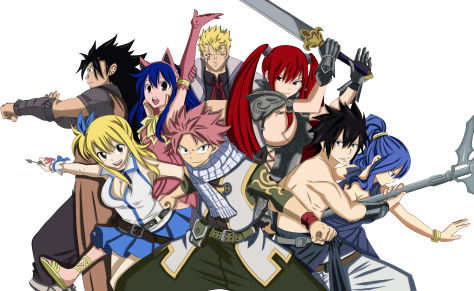 FairyTail Strongest Team by JasmineBlack