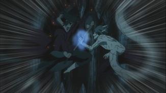 Itachi and Kabuto strike Izanami