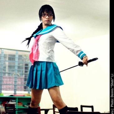 Lisa Yadomaru HS Samurai by darkdiety