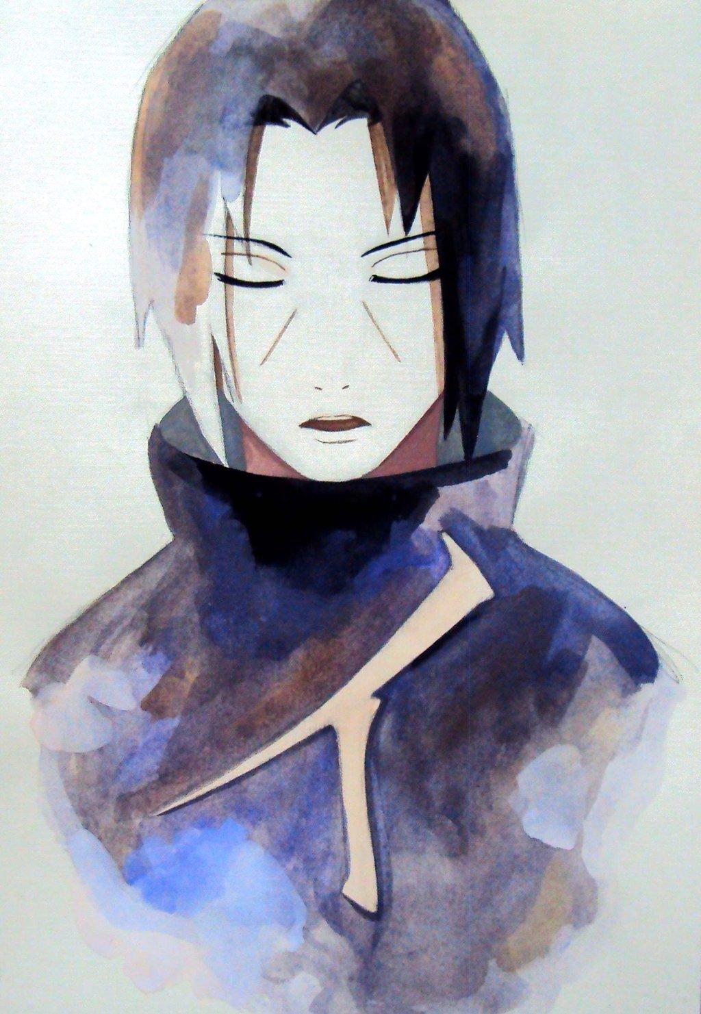 uchiha itachi by demiora daily anime art