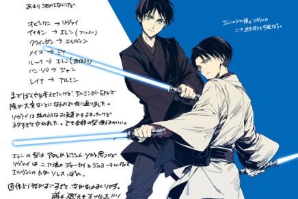 Attack on Jedi – Eren andLevi