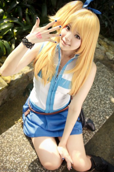 Fairy Tail Celestial Spirit Mage Lucy Cosplay by yingtze