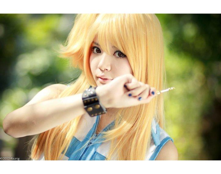 Fairy Tail Celestial Spirit Mage Lucy Heartfilia Cosplay by yingtze