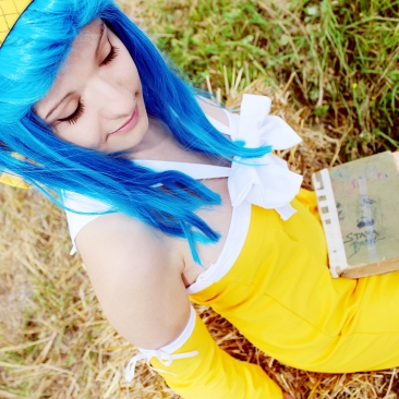 Fairy Tail Levy Cosplay by Inuchronicle