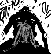 Komamura's Bankai begins to crumble