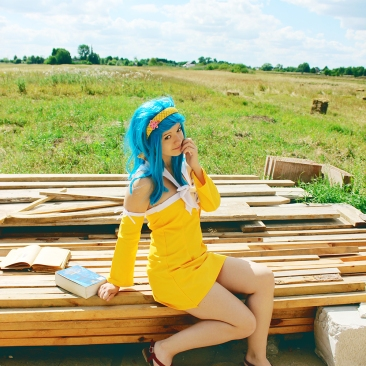 Levy Cosplay Fairy Tail by Inuchronicle