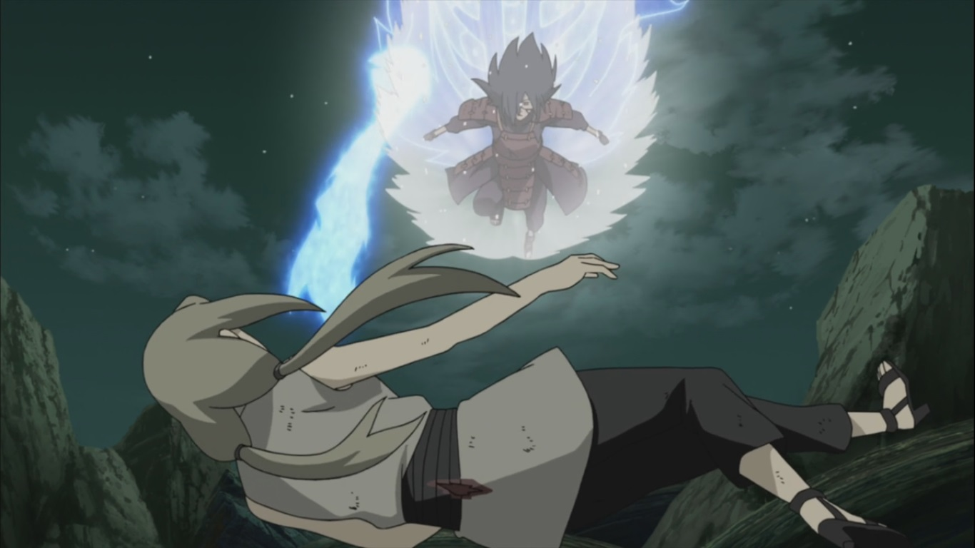 Kushina vs raikage - 1 5