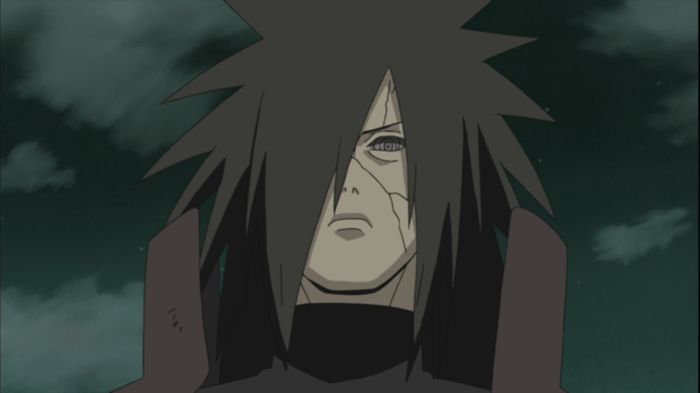 Madara Uchiha's Face | Daily Anime Art