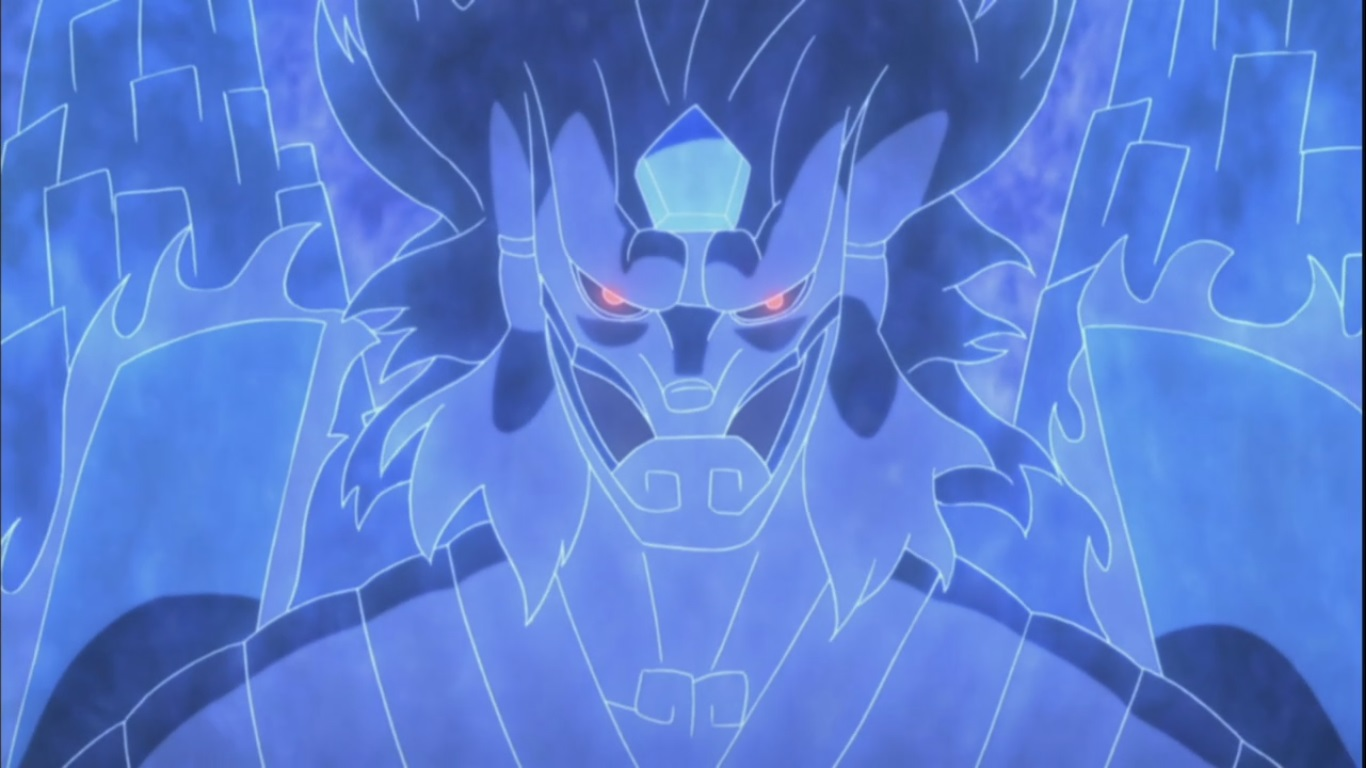Madara's Perfect Susanoo face | Daily Anime Art