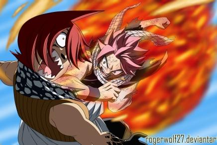 Two Bombs! Natsu vs Jackal – Fairy Tail361