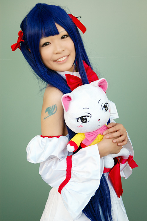 Wendy Marvell Cosplay By Macross N Daily Anime Art