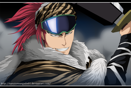 Renji vs Mask De Masculine! Coward Villains – Bleach 562