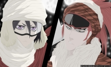 Bleach coloring mange 562 rukia and renji by renzolomagno