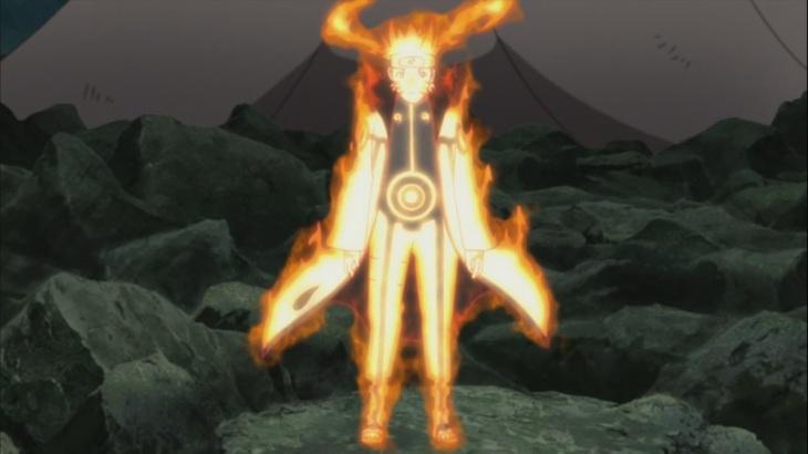 Naruto's Bijuu Mode