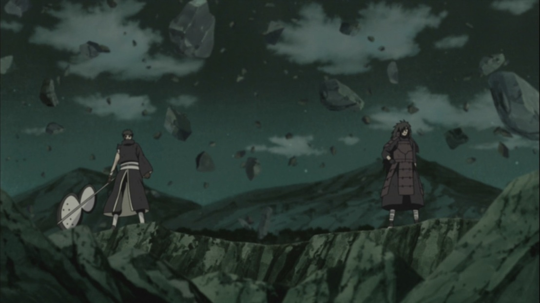 Obito and Madara stand together