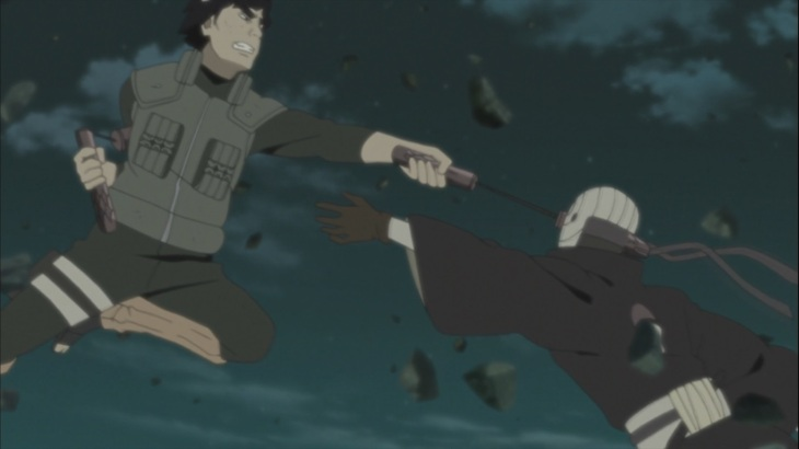 Tobi and Guy fight