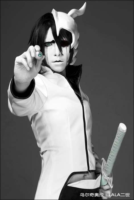 Ulquiorra Cifer Cosplay Eye Ball by Lalaax