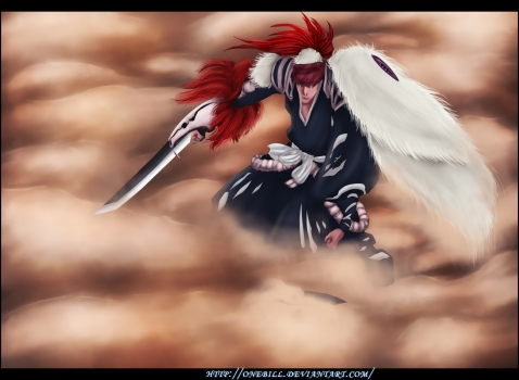Bleach 546 Renji Abarai New Bankai by onebill