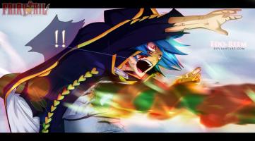 Fairy Tail 368 Jellal hit by Edo-reem