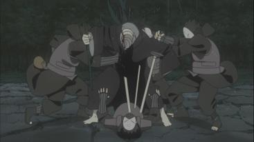 Mist Ninja kill their own from Obito's technique