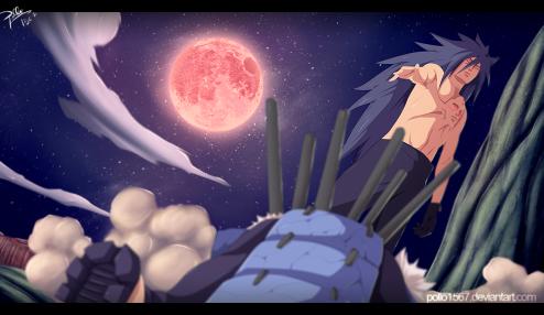 Naruto 661 Madara Kills Sasuke by Pollo1567