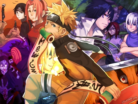 Naruto Scroll of Memories by Uzucake
