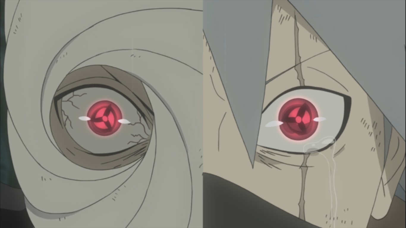Obito and Kakashi develop Mangekyou Sharingan | Daily ...
