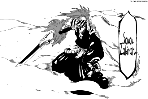 Renji's Souou Zabimaru Bankai Twin Serpent King Tail