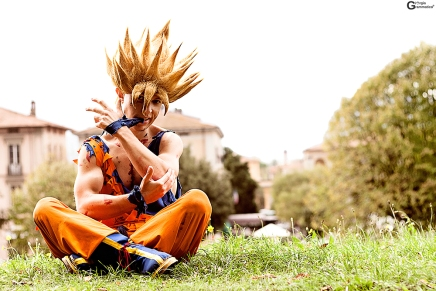 Cosplay Monday: Goku