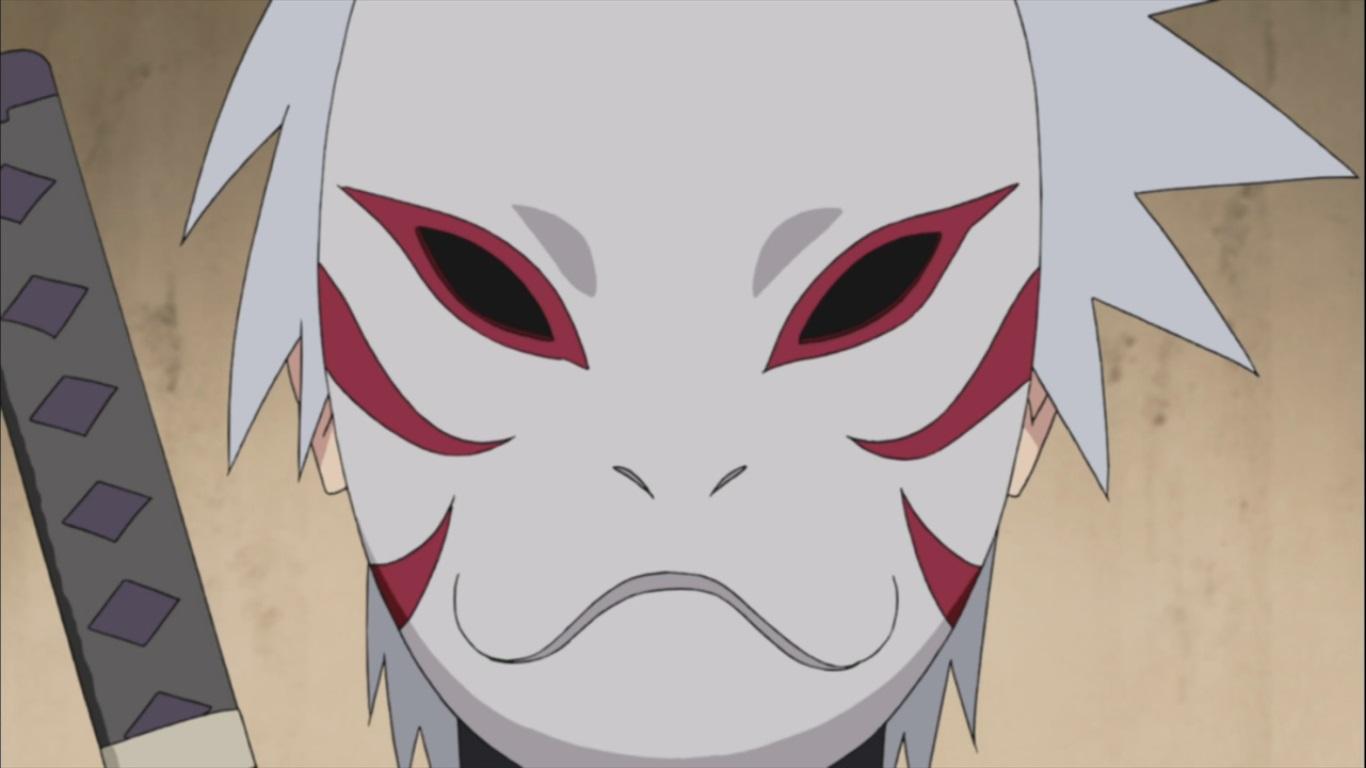 Кто из анбу за маской
