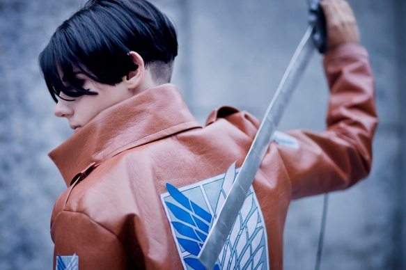 Levi Cosplay Sword by theonlyvu