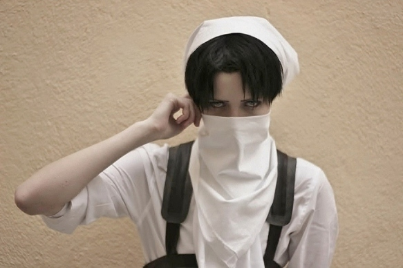 Levi make sure it's clean by buww