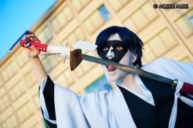 Mayuri Licking Sword by Miryamaris