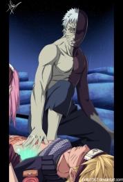 Naruto 666 Obito Saving Naruto by pollo1567
