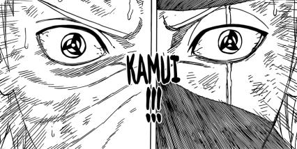 Obito and Kakashi's Kamui