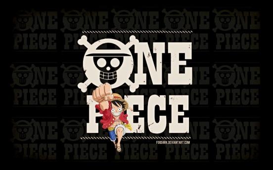 One Piece Logo Wallpaper by fogdark