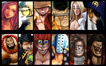 Worst Generation Supernova One Piece Wallpaper by xkronos
