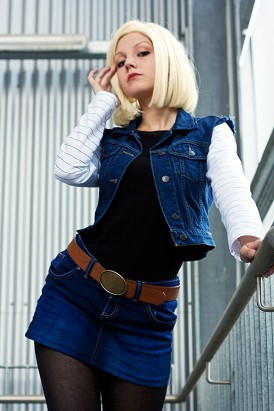 Android 18 Don't Mess With Me by Lie-chee