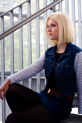 Android 18 More than a cyborg by Lie-chee