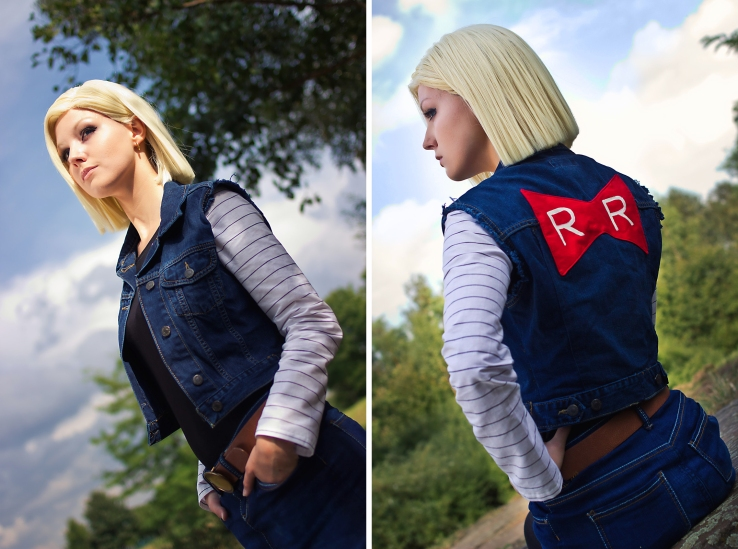 Android 18 Red Ribbon Cosplay by Lie-chee