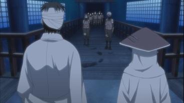 Hiruzen and Danzo talk about Yamato and Kakashi