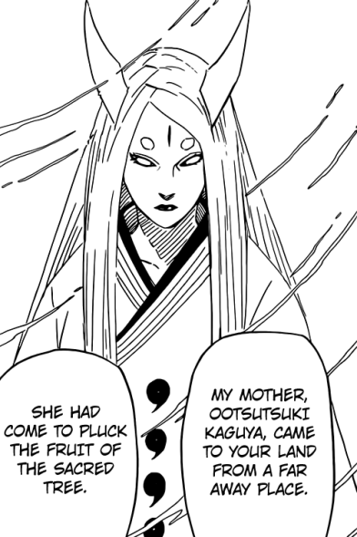Kaguya Otsutsuki mother of Hagoromo