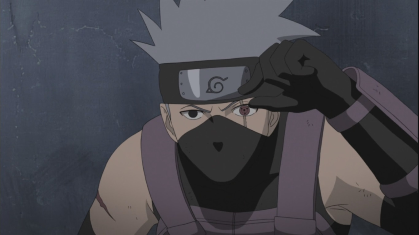 Kakashi and his Sharingan | Daily Anime Art