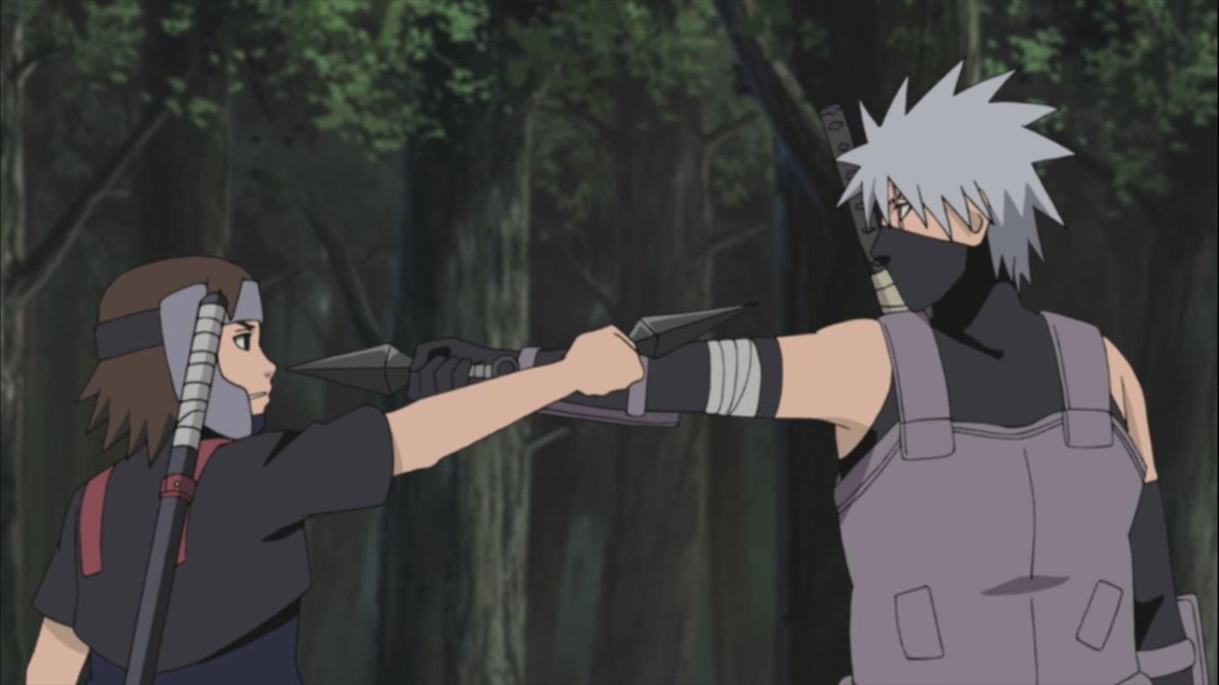 Kakashi vs Yamato | Daily Anime Art
