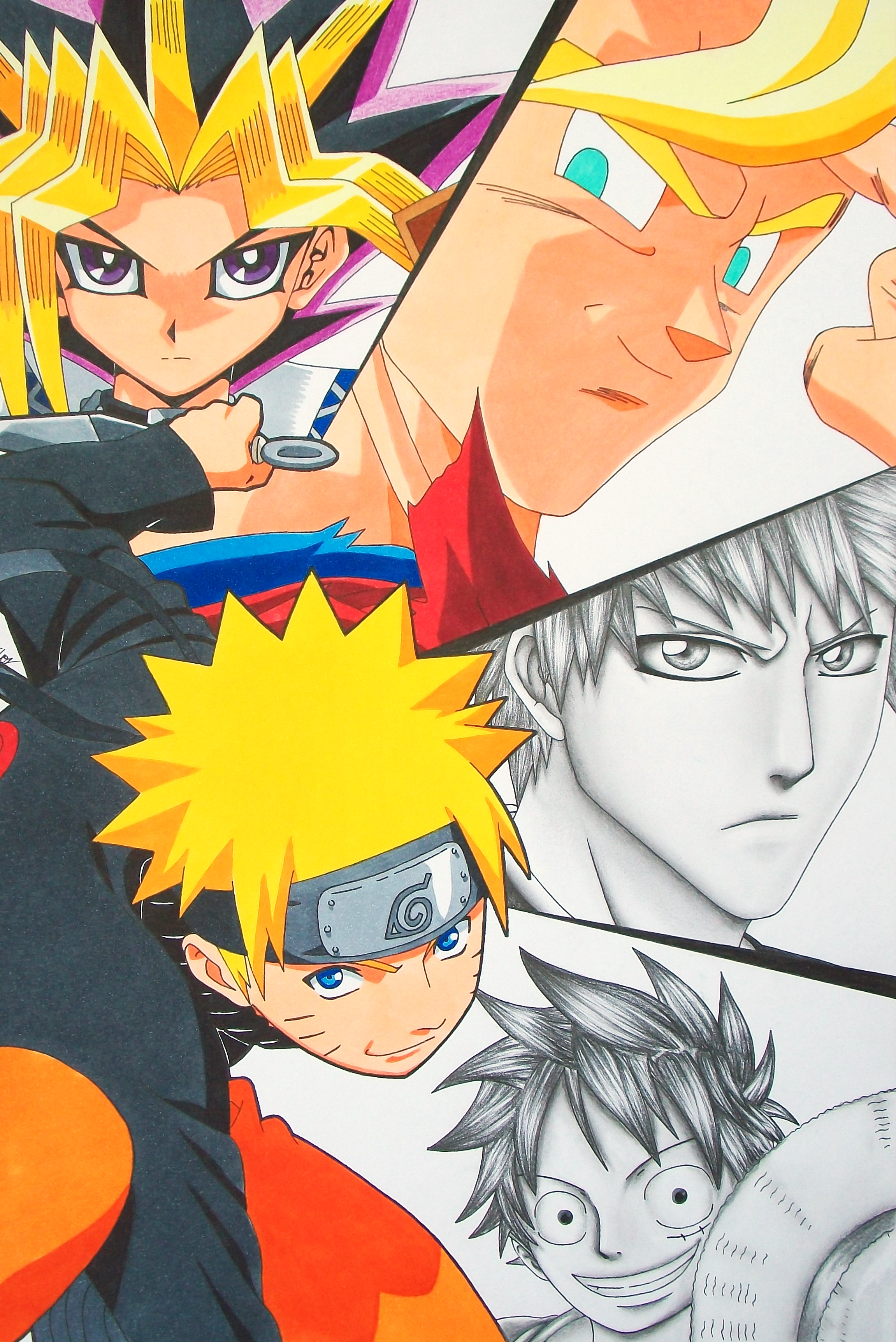 Living The Dream – Naruto, Ichigo, Goku, Yugi and Luffy ...