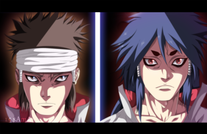 Naruto 670 Indra and Ashura by Sama15