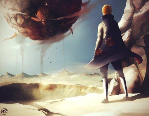 Planetary Devastation Pain Naruto Kurama by Wudo702