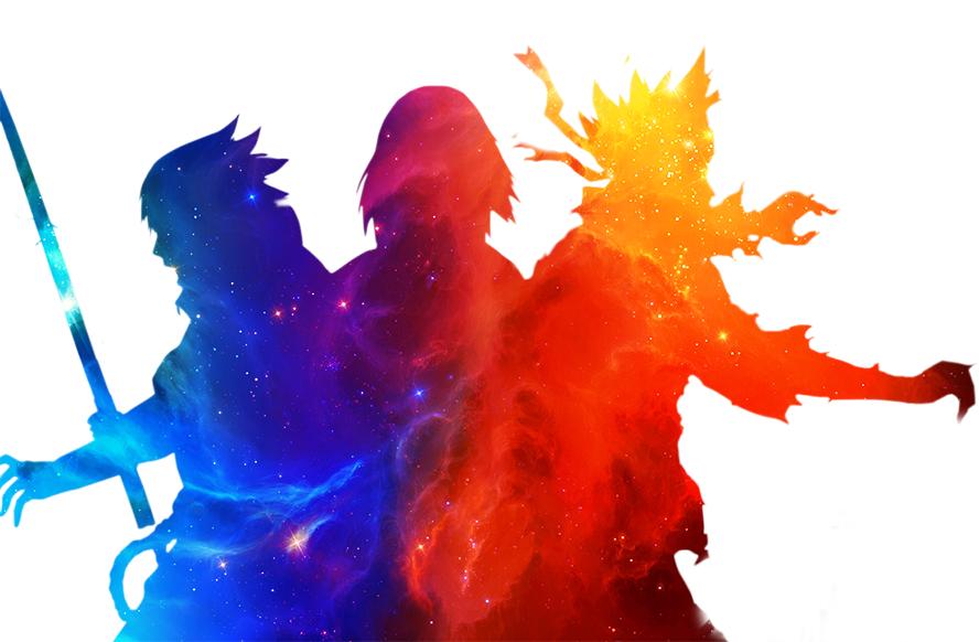 United We Stand Team 7 Naruto Sasuke Sakura by CorryRox