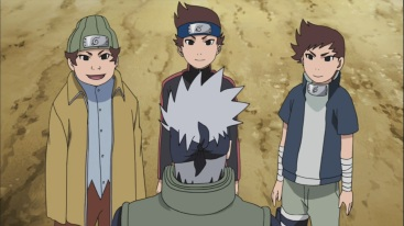 Failed Students realise their mistakes from Kakashi